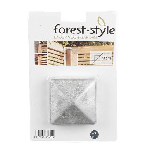 Piramide galvanizate 9 x 9 cm Forest Style (set 2 buc)