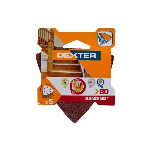 Set smirghel slefuitor Delta 93 x 93 mm granulatie 80