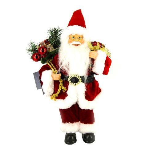 Figurina Santa musical model asortat 30 cm