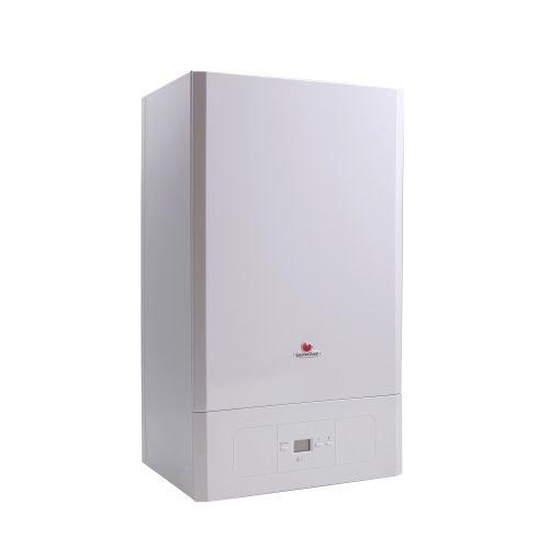 Centrala termica pe gaz in condensare Saunier Duval Semiatek 28 kW cu kit evacuare