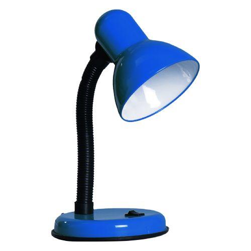Lampa bleu de birou E27 60 w