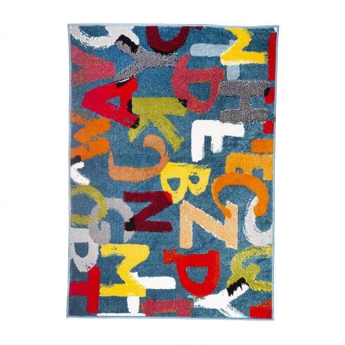 Covor polipropilena 120 x 170 cm Kolibri alfabet