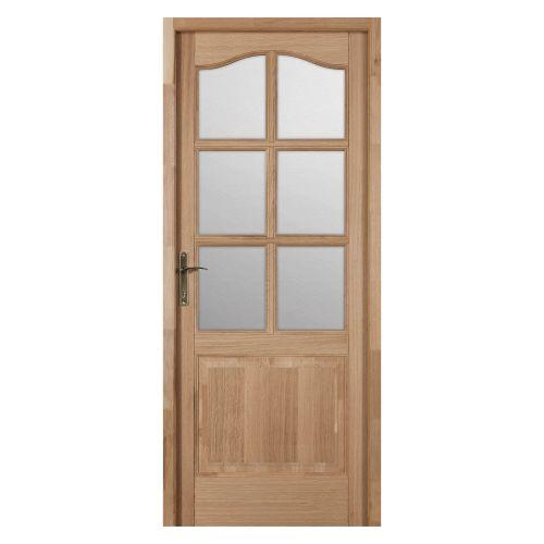 """Usa de interior stejar 88 cm cu geam """"Vera Maria"""", deschidere stanga"""