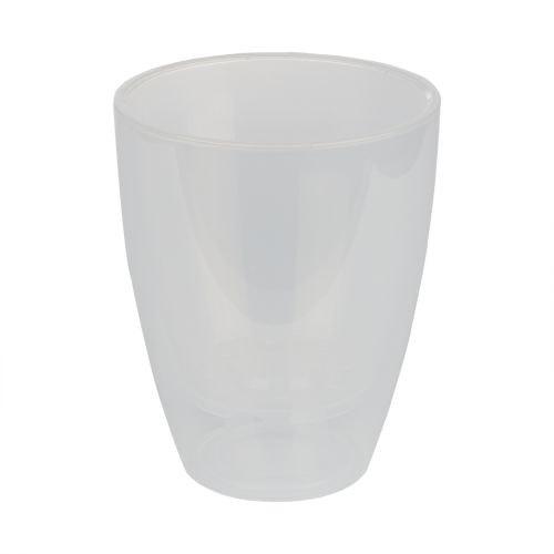Ghiveci cu sistem udare Miltonia transparent 13 cm