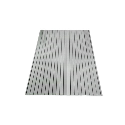 Tabla cutata W8 zinc 0.25 mm 0.955 x 1.90 m