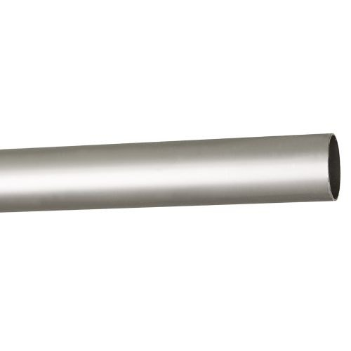Bara metal 160 cm, nuanta satin nichel, diametru 19 mm