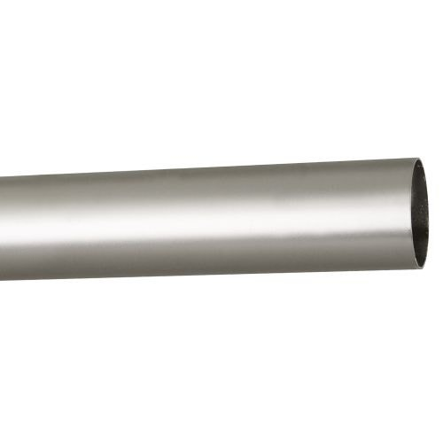 Bara Ø25 mm metal satin nichel, 2.4 m