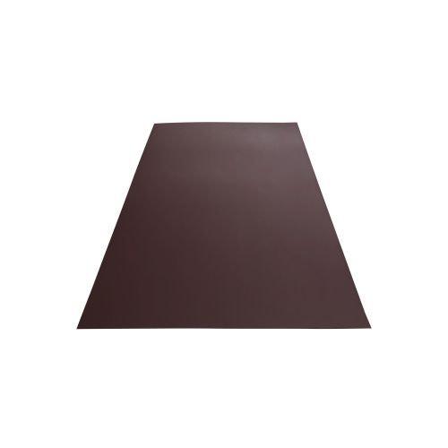 Tabla plana maro mat 0.40 mm 1.25 x 1.90 m