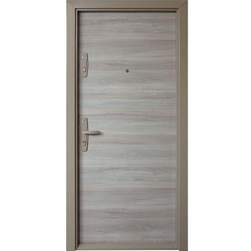 Usa metalica apartament Urban stejar nordic 88 x 202 cm, deschidere dreapta