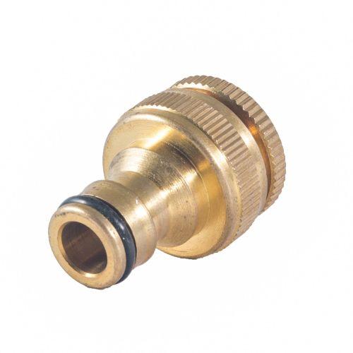 """Conector robinet 1/2"""" - 3/4"""" alama"""
