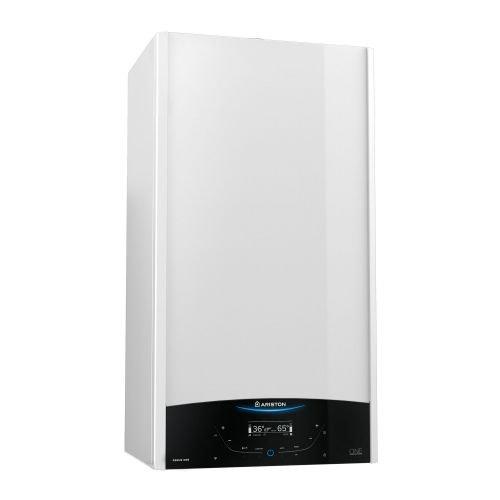 Centrala termica pe gaz in condensare Ariston Genus One 30 kW cu kit evacuare