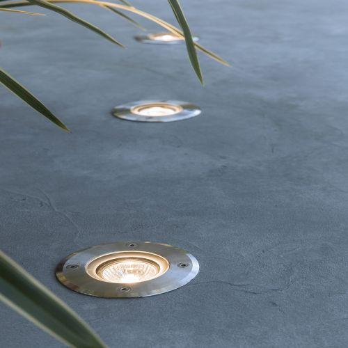 Spot incastrabil de exterior, GU10, IP 67, diametru 21 cm, Atlanta