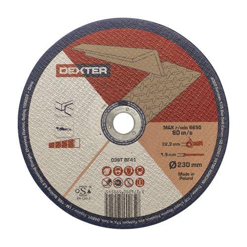 Disc taiere pentru aluminiu 230 x 1.9 mm Dexter