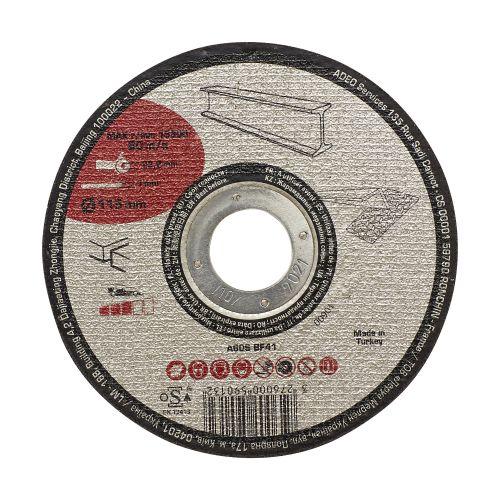 Disc taiere pentru metal/otel 115 x 1 mm