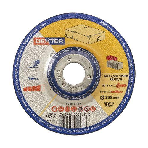 Disc pentru taiere piatra 125 x 6 mm Dexter