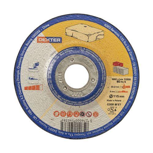 Disc pentru taiere piatra 115 x 6 mm Dexter