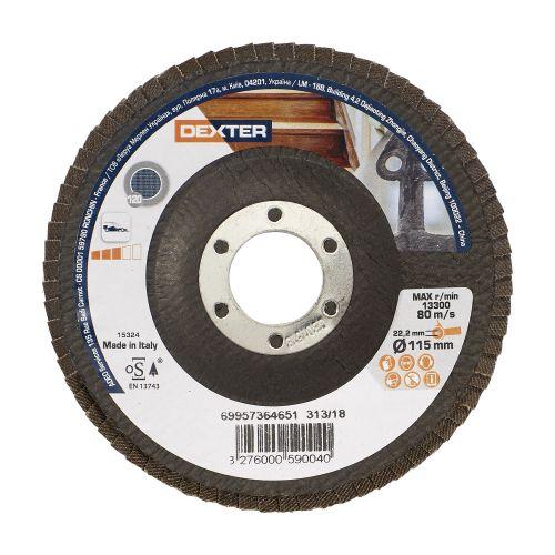 Disc evantai multimaterial 115 mm P120 Dexter