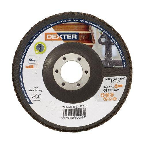 Disc evantai multimaterial 115 mm P40 Dexter