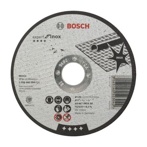 Disc taiere pentru inox  125 x 2 mm Bosch