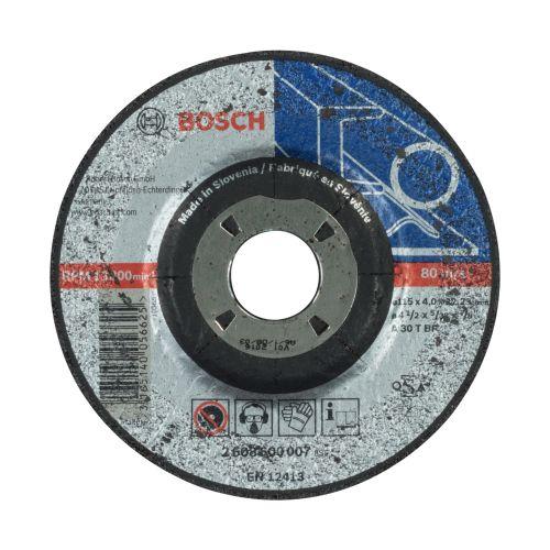 Disc slefuire metal 115 x 4 mm Bosch
