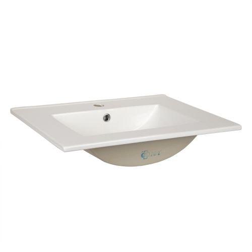 Lavoar Essential 80 x 12 x 45 cm alb