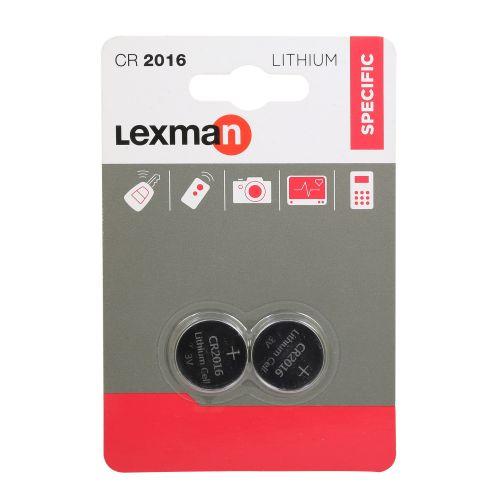 Baterii lithium CR2016 x2 Lexman