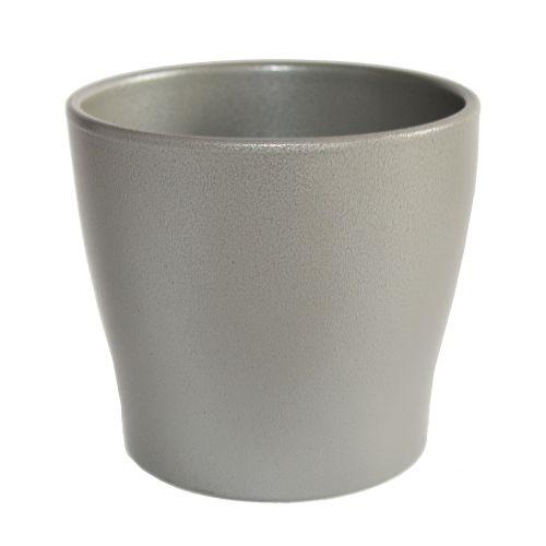 Ghiveci Toscana argintiu 13 cm