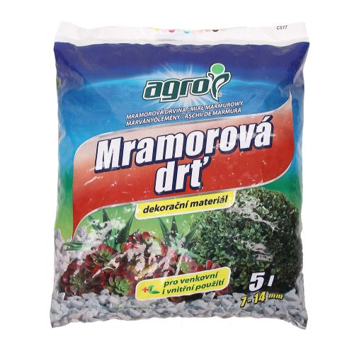 Granule decorative marmura 7-14 mm Agro 5L