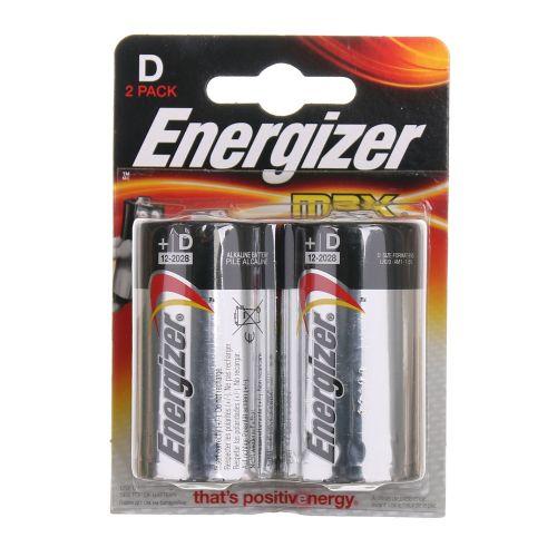Baterii alcaline D x2 Energizer