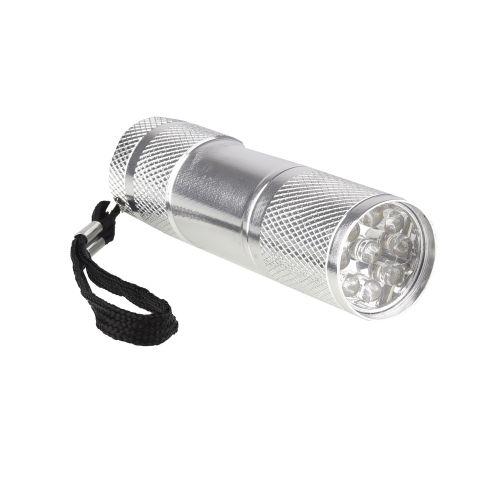 Lanterna LED argintie 45 lm