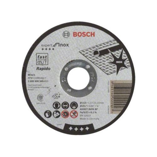 Disc taiere pentru inox  115 x 1 mm Bosch