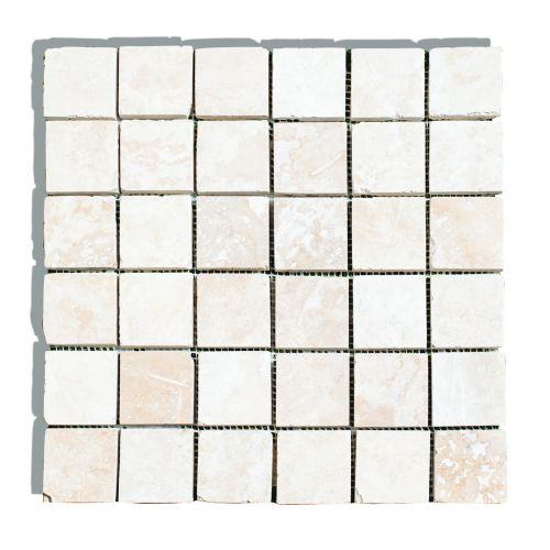 Mozaic 30.5 x 30.5 cm travertin clasic