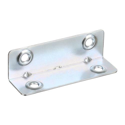 Conector zincat 21 x 21 x 50 mm