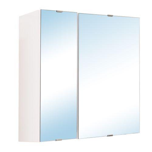 Dulap oglinda 2 usi essential 58 x 58 x 17 cm alb