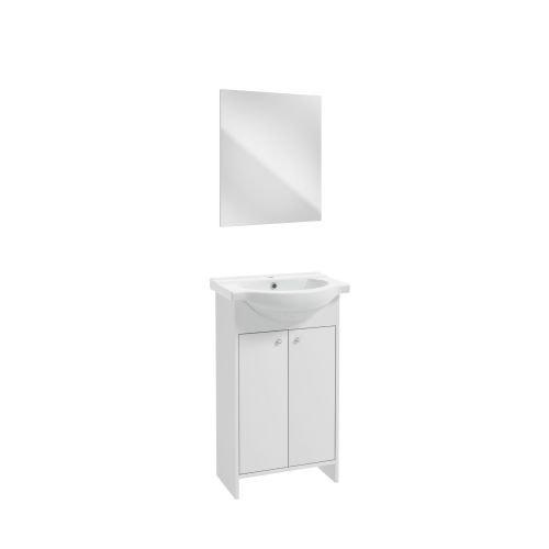 Set mobilier Diana 65 x 82 x 43 cm alb