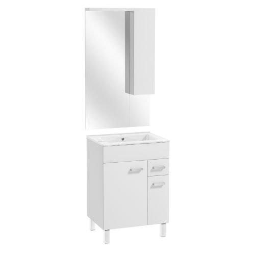 Set mobilier Point 60 x 82 x 46 cm alb