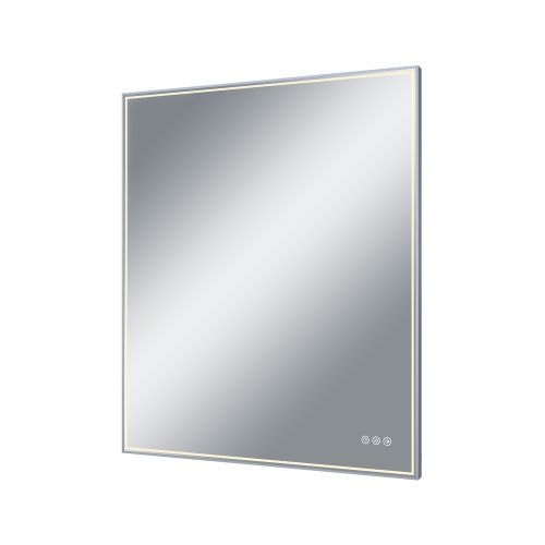 Oglinda cu led Neo 75 x 90 cm cromata