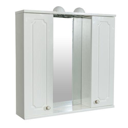 Oglinda cu 2 dulapuri Rustic 70 x 70 x 14 cm
