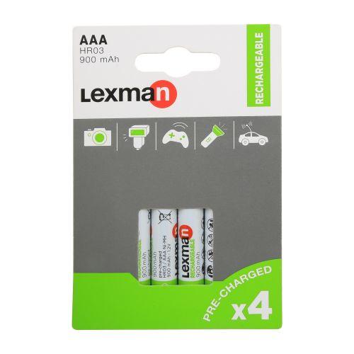 Acumulator Lexman AAA LR3 x4 900 mAh