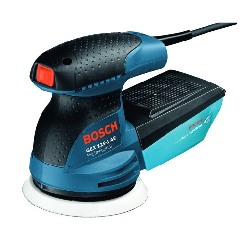 Slefuitor excentric 250 W GEX 125-1AE Bosch Professional