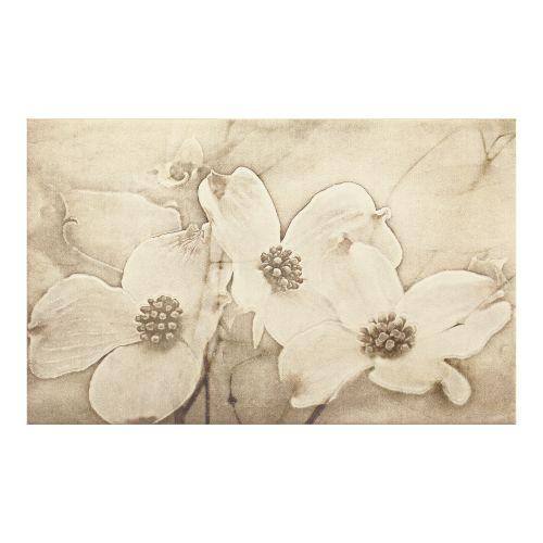 Decor faianta 25 x 40 cm Inserto Flower