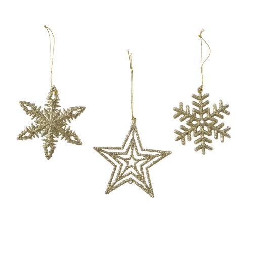 Decoratiune stele aurii