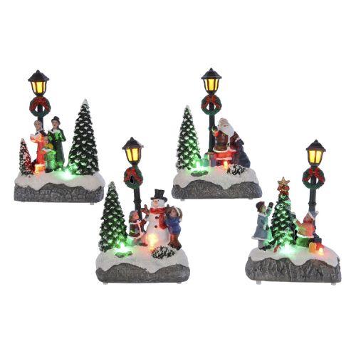 Decoratiune Colt de oras cu LED