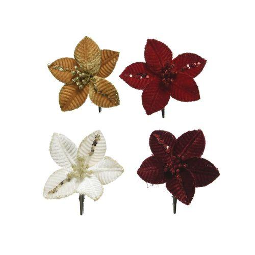Floare diverse culori 10 cm