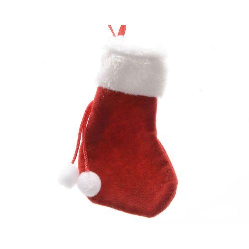 Decoratiune ciorapel Craciun 15cm
