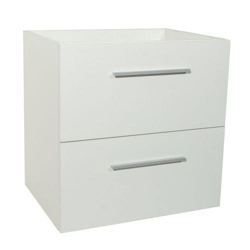 Baza 2 sertare PP 60 x 45 x 60 cm alb