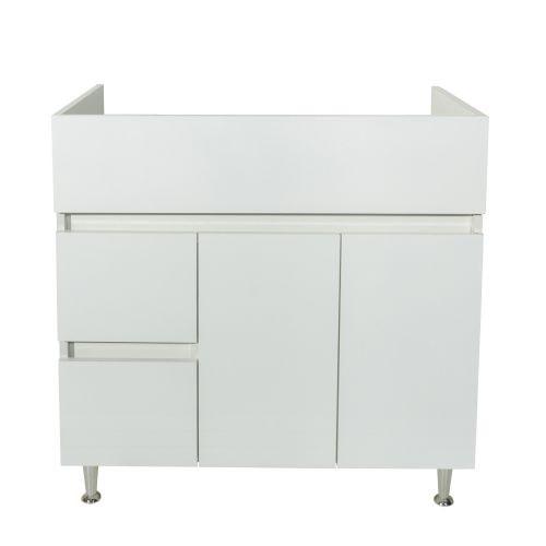 Baza 2 usi Smart 80 x 45 x 75 cm alb