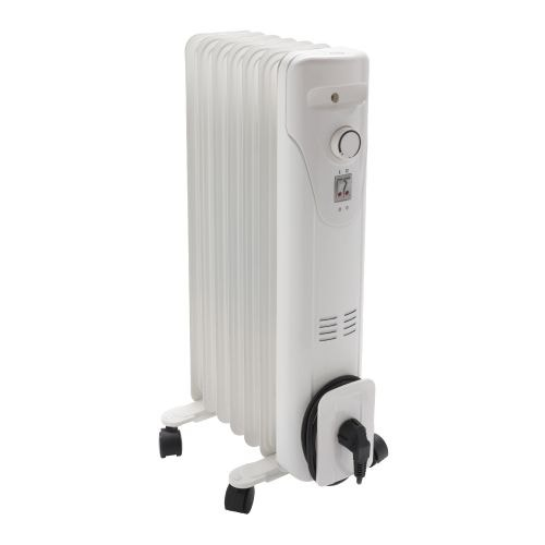 Radiator pe ulei 1500 W alb Equation