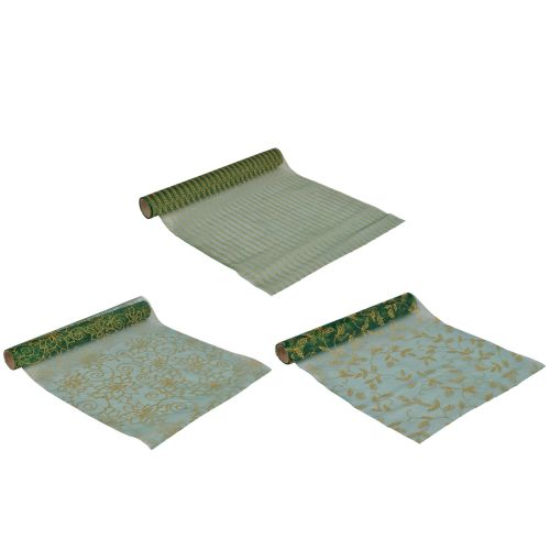 Hartie de impachetat verde 2 m