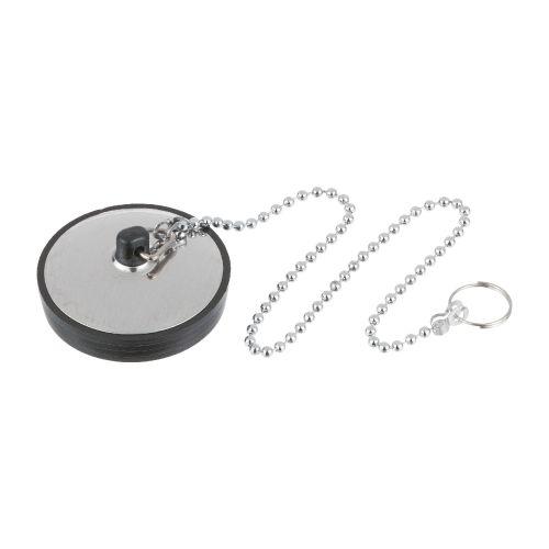 Dop sifon lavoar D52 mm cu lant crom